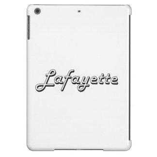 Diseño retro clásico de Lafayette Luisiana Funda Para iPad Air