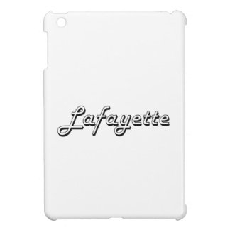 Diseño retro clásico de Lafayette Luisiana