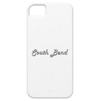 Diseño retro clásico de South Bend Indiana iPhone 5 Carcasas
