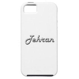 Diseño retro clásico de Teherán Irán iPhone 5 Carcasas