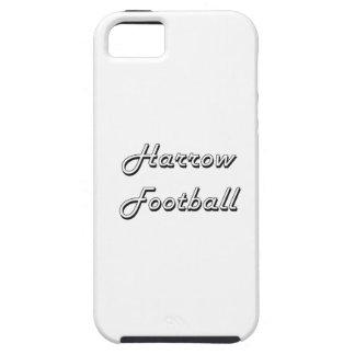 Diseño retro clásico del fútbol de la grada iPhone 5 carcasas