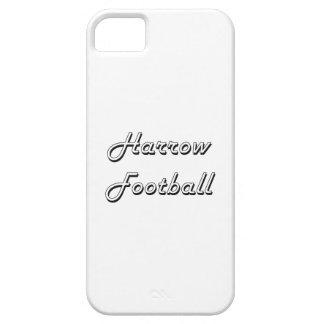 Diseño retro clásico del fútbol de la grada iPhone 5 carcasa