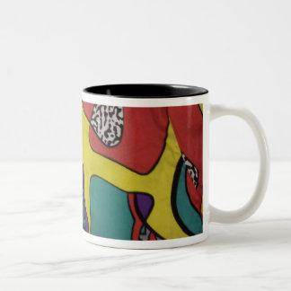 diseño retro de los años 80 tazas de café