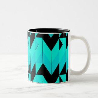 diseño retro de los años 80 taza de café