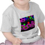 Diseño retro del fiesta camisetas