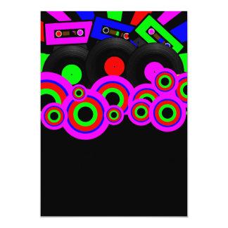 Diseño retro del fiesta comunicados