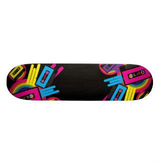 Diseño retro del fiesta skateboards