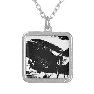 Diseño retro del jet de la aviación del avión del  colgante personalizado