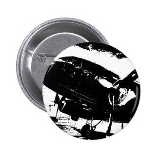 Diseño retro del jet de la aviación del avión del  pin