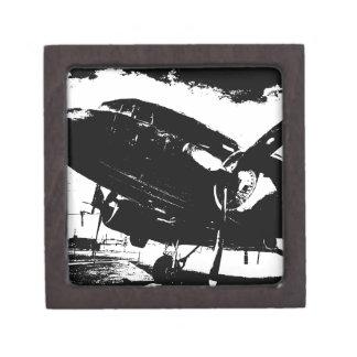 Diseño retro del jet de la aviación del avión del cajas de recuerdo de calidad