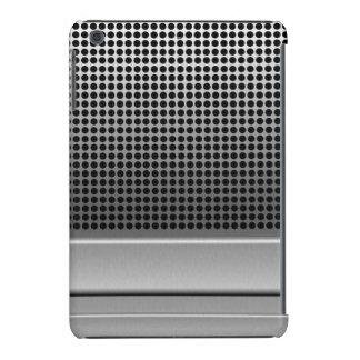 Diseño retro del micrófono funda para iPad mini