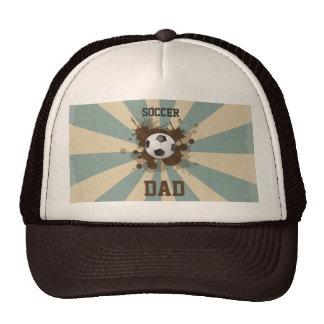 Diseño retro del papá del fútbol