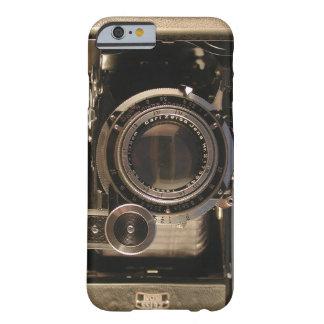 diseño retro del viejo de la cámara del caso del funda para iPhone 6 barely there