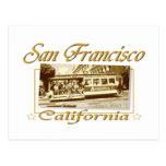 Diseño retro del vintage de San Francisco Postal