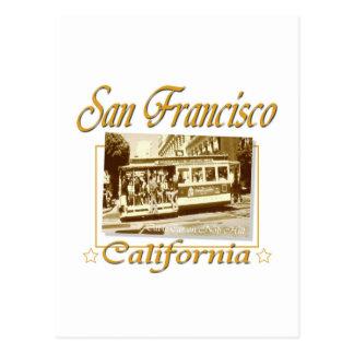 Diseño retro del vintage de San Francisco Postales