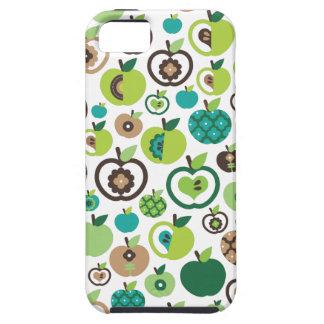 Diseño retro lindo del estampado de plores de la funda para iPhone SE/5/5s