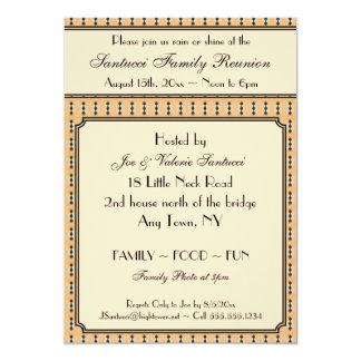 Diseño-Reunión del vintage, acontecimiento, Invitación Personalizada
