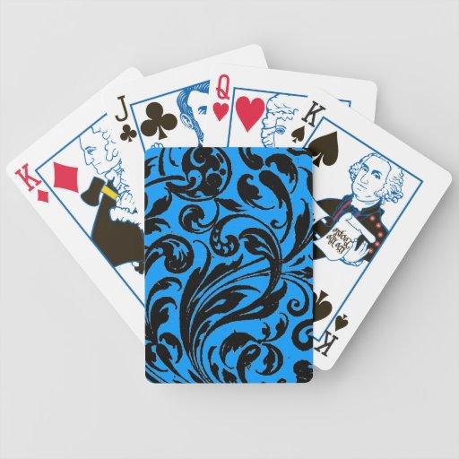 Diseño rizado del arte gráfico de Q Cartas De Juego