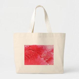 Diseño rojo abstracto bolsa