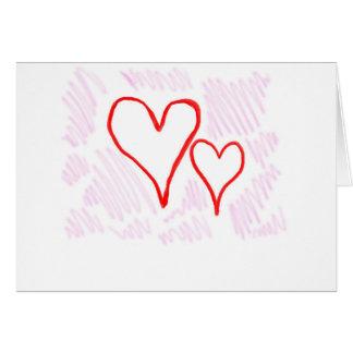 Diseño rojo, amor o tarjeta del día de San