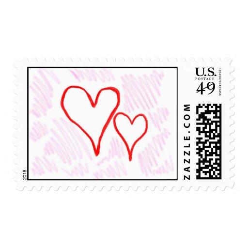 Diseño rojo, amor o tarjeta del día de San Valentí