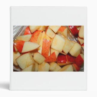 diseño rojo cortado de la comida de la manzana de