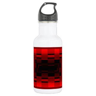 Diseño rojo CricketDiane de la ilusión óptica