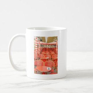 Diseño rojo de las tablas