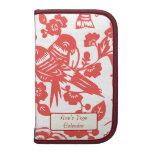 Diseño rojo del florero de Ming Organizadores