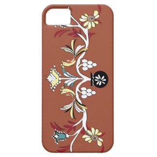 Diseño rojo iPhone 5 funda