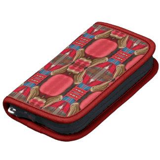 Diseño rojo. Modelo elegante cuadrado Planificador