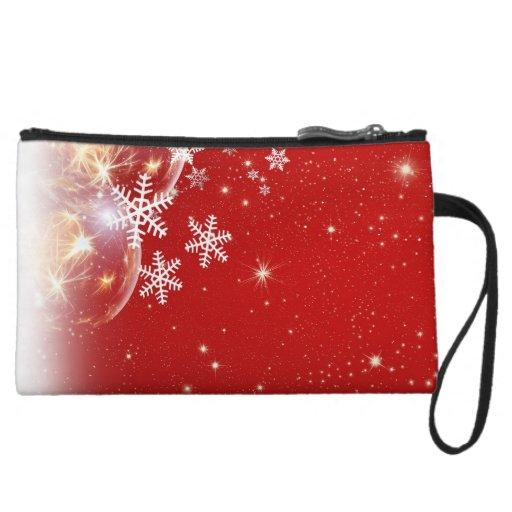 Diseño rojo y blanco de la chuchería del navidad d