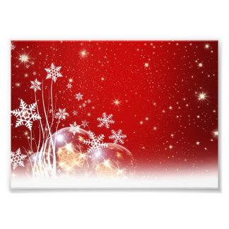 Diseño rojo y blanco de la chuchería del navidad d cojinete