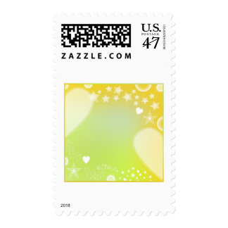 Diseño romántico 1 sellos postales