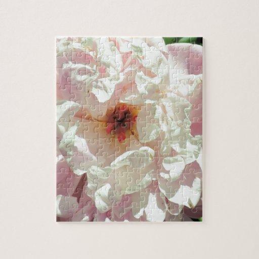 Diseño rosado completamente florecido impresionant puzzle