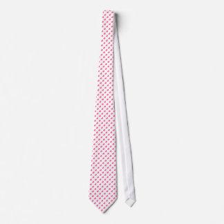Diseño rosado de la mariposa corbata