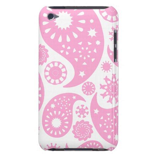 Diseño rosado de Paisley Case-Mate iPod Touch Cárcasas