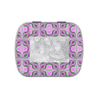 Diseño rosado del modelo de la MOD Latas De Dulces
