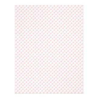 Diseño rosado del papel del libro de recuerdos de  plantilla de membrete
