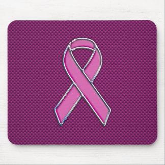 Diseño rosado moderno de la conciencia de la cinta mouse pad