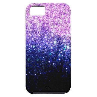 diseño Rosado-púrpura de Ombre iPhone 5 Funda