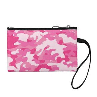 Diseño rosado y blanco de Camo