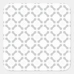 Diseño round.jpg del arte pegatina cuadradas personalizada