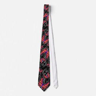 Diseño salvaje del tirón de la mariposa, tirón corbata personalizada