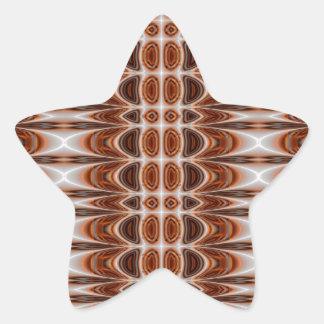 Diseño sano de la armadura, productos multi pegatina en forma de estrella