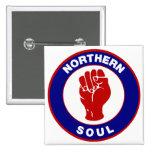 Diseño septentrional de la blanco de la MOD del al Pins