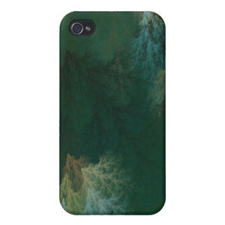 Diseño SEPTENTRIONAL de la SELVA TROPICAL iPhone 4 Carcasa