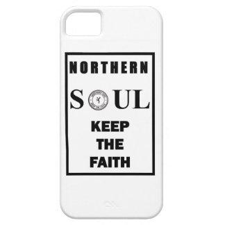 Diseño septentrional del alma con el bailarín iPhone 5 protectores