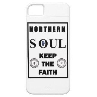 Diseño septentrional del alma con el puño y el iPhone 5 Case-Mate protector