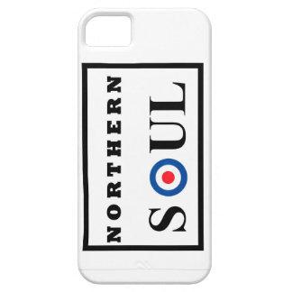 Diseño septentrional del alma con la blanco de la iPhone 5 Case-Mate cárcasas